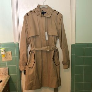 Cole haan NWT size XL trench jacket